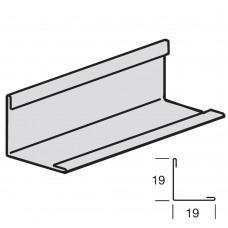 Пристенный молдинг ARMSTRONG 3000 х 19 x 19 мм, БЕЛЫЙ (в коробке 108 пог.м)
