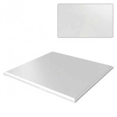 Кассета Cesal стальная оцинкованная белая 595х595