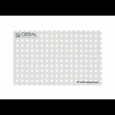 Кассета 600х600 Cesal 3306 Белый матовый с перфорацией d 2,0 мм